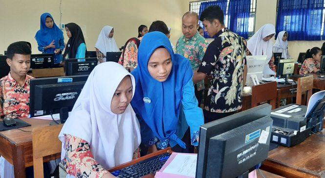 Ujicoba Aplikasi PPDB Online 2019/2020 di SMK Negeri 1 Pracimantoro