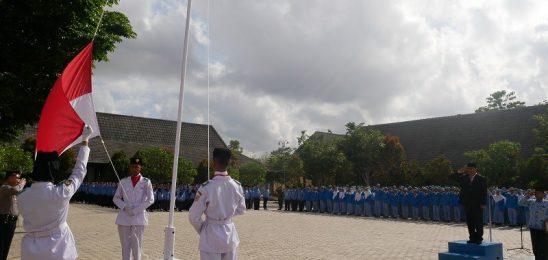 UPACARA SUMPAH PEMUDA 2019 di Lapangan SMKN 1 Pracimantoro